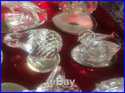 Lot of 23 Swarovski Crystal Figurines