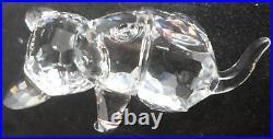 Lot of 3 Swarovski Crystal Cats