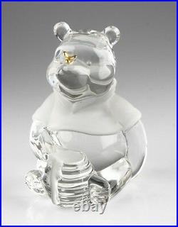 Lot of 8 Retired Disney Lenox Winnie the Pooh Crystal Figurines, Retired, Great