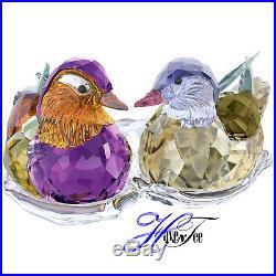 Mandarin Ducks Crystal Base 2017 Swarovski Crystal 5265586