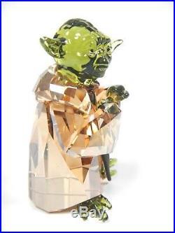 Master Yoda Star Wars Disney Character 2018 Swarovski Crystal 5393456