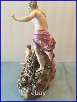 Meissen Porcelain Figurine CAPTURE OF THE TRITONS