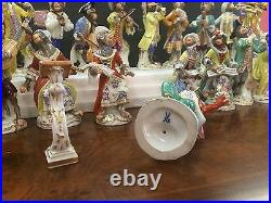 Meissen Porcelain Full Monkey Band 21pc