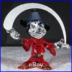 NEWSwarovski Crystal DISNEYS SORCERER MICKEY #5004740 LE 2014 BNIB Mint