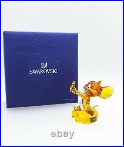 NEW 100% SWAROVSKI Tom and Jerry Crystal Jerry Figurine Display Deco 5515336