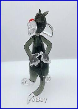 NEW Swarovski Brand Crystal Looney Tunes Figurine Sylvester Cat Display 5470345