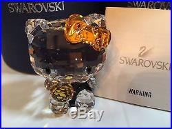 NIB $150 Swarovski Crystal Figurine Hello Kitty Halloween #1191918