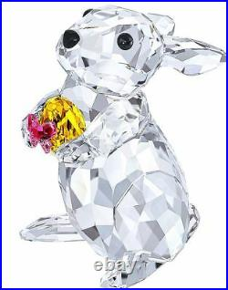 NIB $159 Swarovski Crystal Figurine Rabbit With Easter Egg Bunny # 5274174