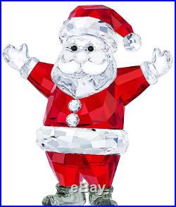 NIB $199 Swarovski Crystal Christmas Figurine SANTA CLAUS #5291584