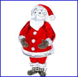 NIB $ 325 Swarovski Crystal Christmas Figurine SANTA CLAUS 5223620