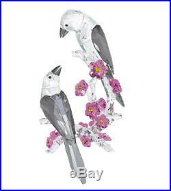 NIB $929 Swarovski Crystal Figurine Tutelary Spirit Loving Magpies #5004639