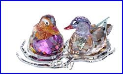 NIB $990 Swarovski Crystal Figurine Mandarin Ducks #1141631