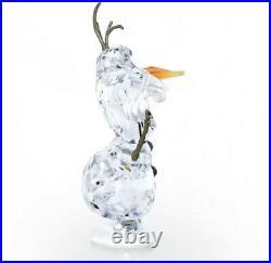 NIB Authentic Swarovski Disney Frozen OLAF Collectible Crystal Figurine #5135880