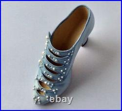 NIB Just The Right Shoe Raine Blue Victoria Promenade Exclusive Willitts COA