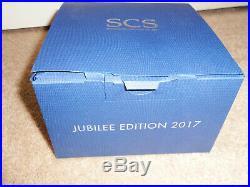 NIB Swarovski Crystal SCS Jubilee Edition 2017 Swans 4 PC Set SIGNED 5384054