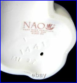 Nao By Lladro #1441 Holy Mary Bnib Religious Virgin Mother Large Christmas Save$