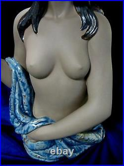 Nao By Lladro Beautiful Bather #12003 Brand Nib Nude Lady Gres Large Save$$ F/sh