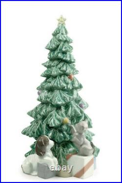 Nao By Lladro Christmas Mischief Brand New In Box #1620 X-mas Dog Cat Save$ F/sh