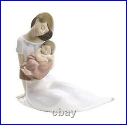 Nao By Lladro Light Of My Days Special Ed #1705 Brand Nib Mother & Baby Love F/s