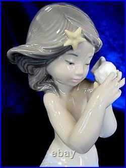 Nao By Lladro Sounds Of The Sea Mermaid #1367 Brand Nib Sea Shell Fantasy F/sh