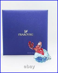 New 100% SWAROVSKI Disney The Little Mermaid SEBASTIAN Figurine Display 5552918