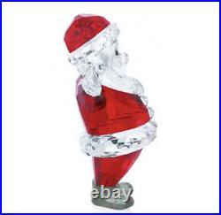 New In Box Authentic Swarovski Crystal Christmas Figurine SANTA CLAUS #5291584