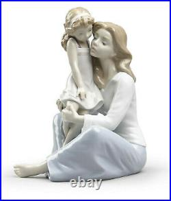 New Lladro Mommy's Little Girl #8623 Brand New In Box Mother's Day Love Save$ Fs
