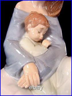 New Nao By Lladro The Greatest Bond #1554 Brand Nib Mother & Baby Boy Love F/sh
