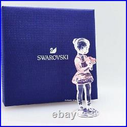 New SWAROVSKI 5493723 Young Ballerina Dancer Crystal Figurine Display Collector