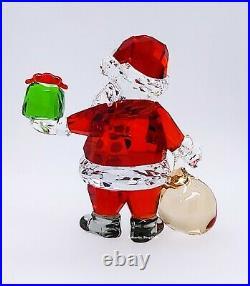 New SWAROVSKI 5539365 Santa Claus With Gift Bag Figurine Display Deco Collector