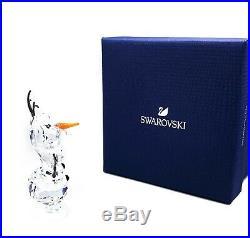 New SWAROVSKI Disney Frozen Olaf Snowman White Crystal Figurine Display 5135880