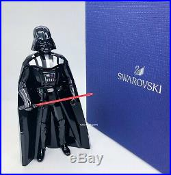 New SWAROVSKI Disney Star Wars Darth Vader Crystal Figurine Display 5379499