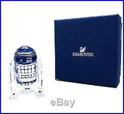 New SWAROVSKI Disney Star Wars R2-D2 Robot Crystal Figurine Display 5301533