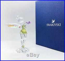 New SWAROVSKI Disney Tinker Bell With Butterfly Crystal Figurine Display 5282930