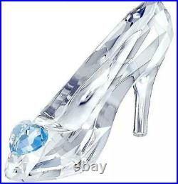 New Swarovski Crystal Figurines Disney Cinderellas Glass Slipper Nib 5035515