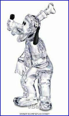 New Swarovski Crystal Goofy Disney Showcase Figurine #690716 MIB