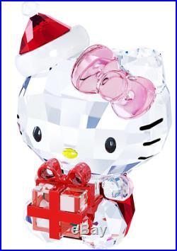New in Box $149 Swarovski Hello Kitty Christmas Gift #5058065