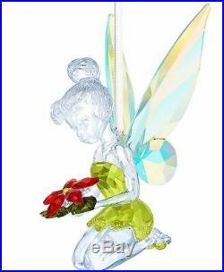 New in Box $239 Swarovski Tinker Bell Christmas Ornament #5135893