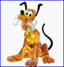 New in Box $325 SWAROVSKI Crystal Living Disney Pluto #5301577