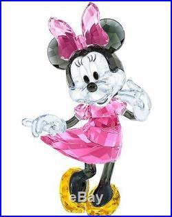 New in Box SWAROVSKI Crystal Living Disney Minnie Mouse #5135891 Rare