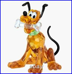 New in Box SWAROVSKI Crystal Living Disney Pluto #5301577