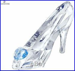 New in Box Swarovski Crystal Disney Cinderella's Slipper LE 2015 #5035515