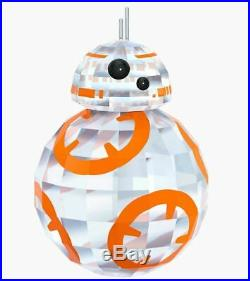 New in Box Swarovski Disney Figurine Collectible Star Wars BB-8 #5290215 Rare