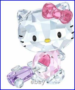 New in Box Swarovski Hello Kitty Traveller #5279082