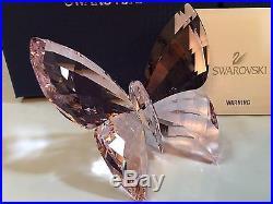 Nib $140 Swarovski Butterfly Rosaline Pink Retired 2015 #5155717/1182461