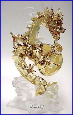 Noble Dragon, Large Chinese Inspired Golden Crystal 2016 Swarovski #5136824