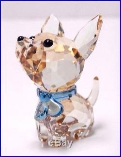 OSCAR THE CHIHUAHUA PUPPY DOG CRYSTAL LOVLOTS 2015 SWAROVSKI #5063330