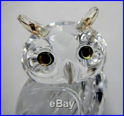 OWL BIG CRYSTAL 2014 SWAROVSKI #5043988