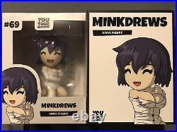 Official Custom MinkDrews Youtooz ULTRA RARE (1/2) Mink Drews