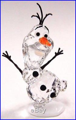 Olaf Snowman Disney Frozen Crystal 2016 Swarovski #5135880